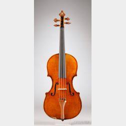 American Violin, Sewell L. Boyce, Norwich (New York), 1893