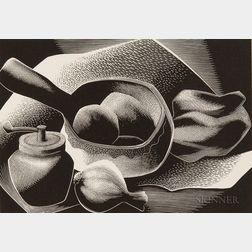 Paul Landacre (American, 1893-1963)      Some Ingredients