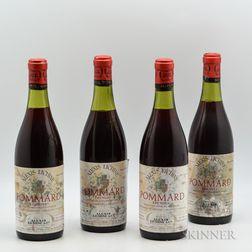 Alexis Loubet Pommard Epenots 1971, 4 bottles