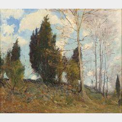 Frederick Mortimer Lamb (American, 1861 - 1936)    Coming Spring