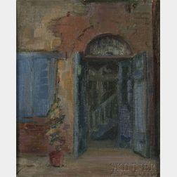 Alberta Kinsey (American, 1875-1952)      Doorway, Possibly New Orleans