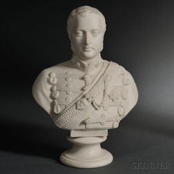 Staffordshire Parian Bust of Albert Edward