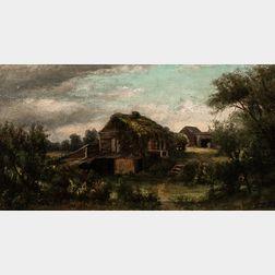Jonathan Bradley Morse (American, 1834-1898)      An Old Maid's Paradise