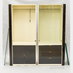 Two-piece Pace-style Display Cabinet