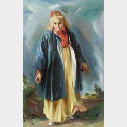 Jon Corbino (Italian/American, 1905-1964)  Party Dress