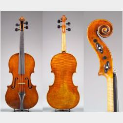 Italian Violin, Gagliano Family, Naples, 1777