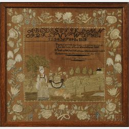 New Hampshire Pictorial Needlework Sampler