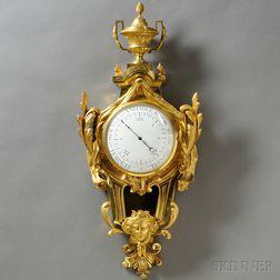 Classical-style Gilt Cartel Barometer