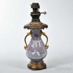 Porcelain Pate-sur-Pate Lamp