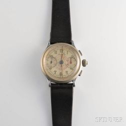 Welsbro Three-pusher Flyback Chronograph Wristwatch