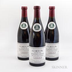 Louis Latour Corton Domaine Latour 2001, 4 bottles