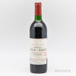 Chateau Lynch Bages 1986, 1 bottle