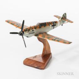 Messerschmit ME 109 WWII Fighter Aviation Model