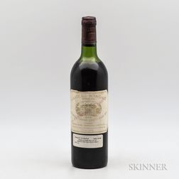 Chateau Margaux 1975, 1 bottle