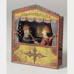 "Shepard Hardware Co. ""Punch and Judy"" Mechanical Bank"
