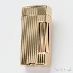 14kt Yellow Gold-cased Dunhill Lighter