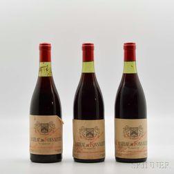 Chateau de Fonsalette, 3 bottles