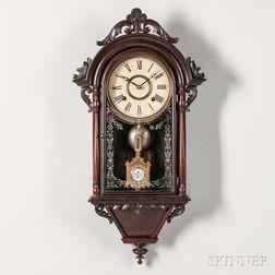 "E.N. Welch ""Hanging Italian"" Wall Clock"