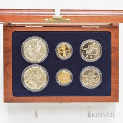 1994 World Cup Commemorative Gold and Silver Six-coin Set.