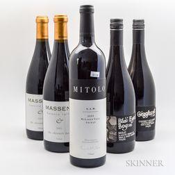 Mixed Australian, 5 bottles