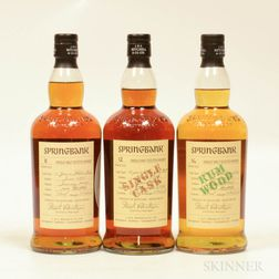 Mixed Springbank, 3 bottles