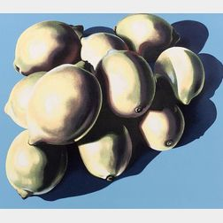 Lowell Nesbitt (American, 1933-1994)    Lot of Four Still Life Prints: Lemons