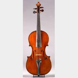 Modern Italian Violin, Camillo Mandelli, Calco, 1944