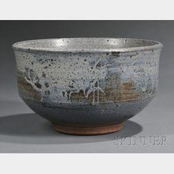 Peter Voulkos (1924-2002) Pottery Bowl