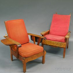 Two Morris Chairs