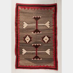 Large Navajo Transitional Rug