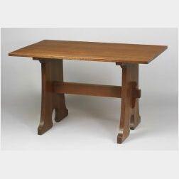 L. & J. G. Stickley Oak Table