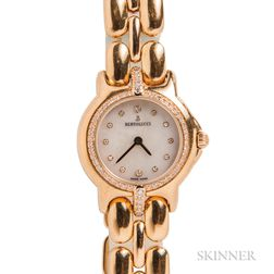 "18kt Gold and Diamond ""Pulchra"" Wristwatch, Bertolucci"
