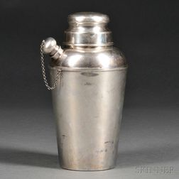 Reed and Barton Sterling Silver Cocktail Shaker
