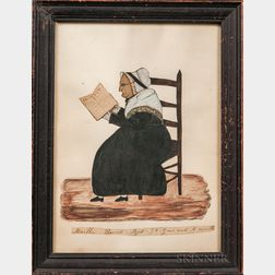 Clarissa Barnes (Connecticut, 1819-1836)      Martha Barnes Aged 96 Years and 6 Months