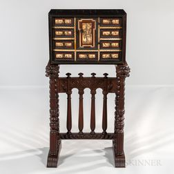 Italian Renaissance-style Cabinet on Stand