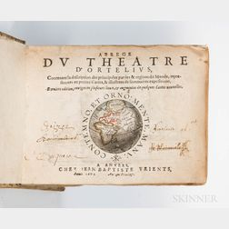 Ortelius, Abraham (1527-1598) and Jean-Baptiste Vrients (1552-1612) Abrege du Theatre d'Ortelius.