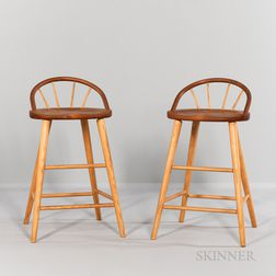 Two Thomas Moser Stools