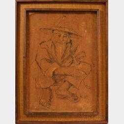 Framed Handmade Batik,