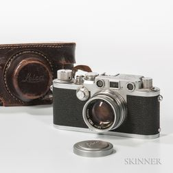 Leica IIIF with Summicron 50mm f/2 Lens