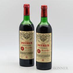 Petrus 1978, 2 bottles