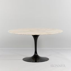 Eero Saarinen (1910-1961) for Knoll International Marble-top Tulip Dining Table