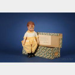 Kathe Kruse Boy Doll in Original Box