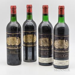 Chateau Palmer, 4 bottles