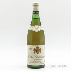 Louis Violland Corton Charlemagne 1975, 1 bottle