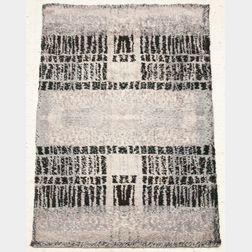 Two Rya Wool Rugs
