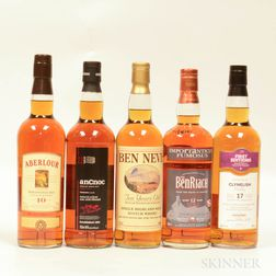 Mixed Single Malts, 11 bottles