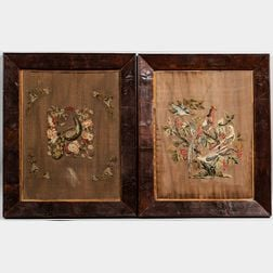 Two Framed Needlework Pictures