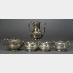 Tiffany & Co. Sterling Five-piece Tea and Coffee Service