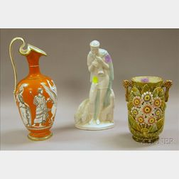 Three Pieces of Assorted Art Pottery