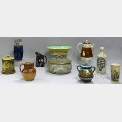 Ten Assorted Ceramic Items